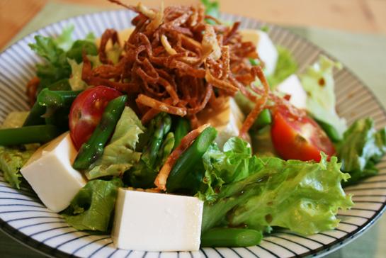 Kari Pari Tofu Salad