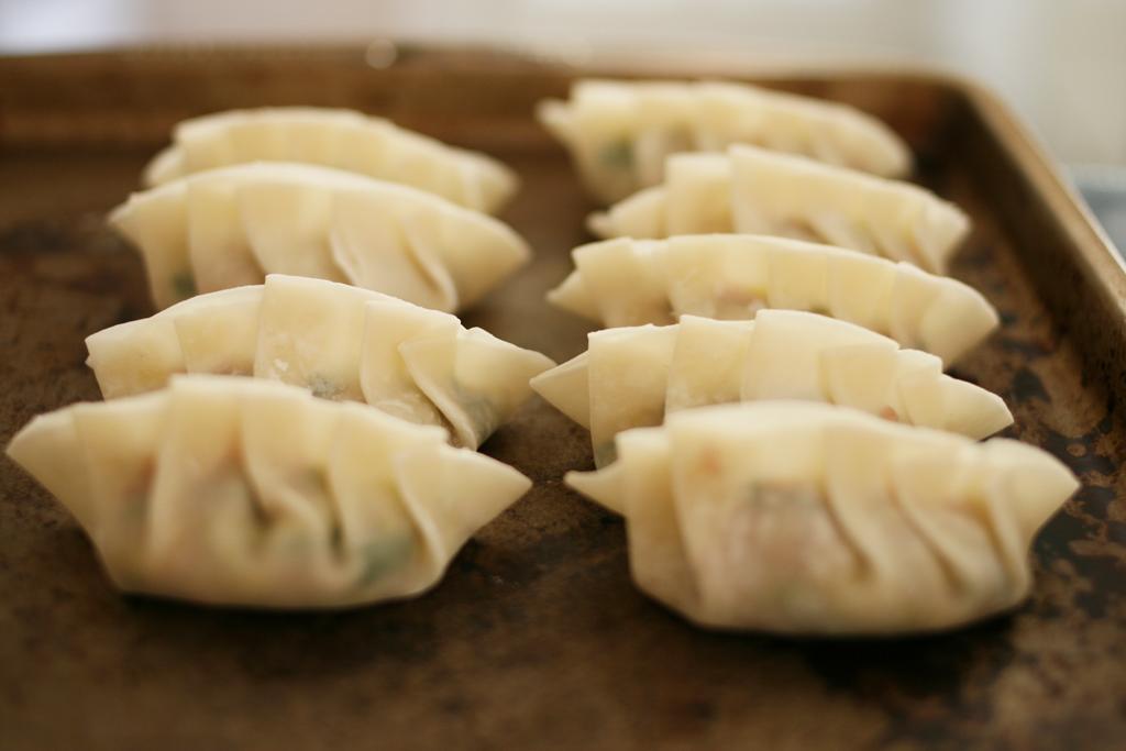 ... butaniku no gyoza best gyoza recipe gyoza japanese starters wagamama